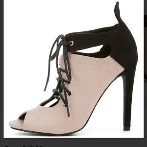 Cape Robbin Shoes - Cape Robbin Blaire-2 Women's Black Heeled Booties